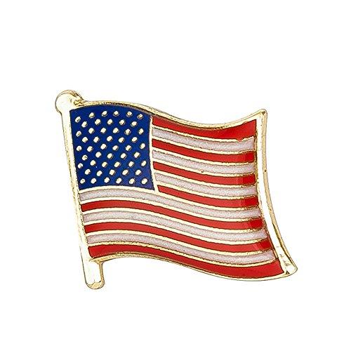 Vereinigten Staaten von Amerika USA Flagge Metall Button Badge Pin Pins Anstecker