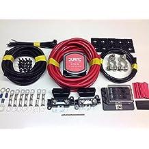 4M Pro Split Kit de carga 12V 140A terminales Durite VSR + batería + caja de fusibles sckp114