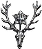 Hubertus di cervo spilla del cappello della caccia distintivo di Caccia Distintivo Hutanstecker Cacciatore Spilla Pin Deer Cappello gioielli per il cappello bavarese al Caccia trachtenanstecker