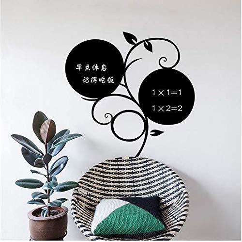 Newberli Kreide Bord Tafel Aufkleber Abnehmbare Vinyl Ziehen Dekor Wandtattoo Kunst Tafel Wandaufkleber Für Kinderzimmer 58 * 61 Cm