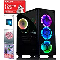ADMI GTX 1070 INTEL I5 8400 GAMING PC: High-End VR Ready Gaming Desktop Computer: Intel Core i5 8400 Coffeelake Six Core 4.0GHz CPU / NVIDIA GeForce GTX 1070 8GB GDDR5 4K VR Ready Graphics Card / 8GB 2400MHz DDR4 RAM / 1TB Hard Drive / 600W PSU Bronze Rated / RGB Gaming Case / Windows 10