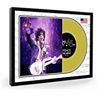 Prince The Artist Framed Disque d'or Display Premium Edition (O)