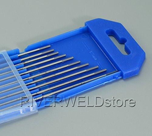 "2% Ceriated WC20 GRAU Wig Schweißen Wolfram Elektrode 10 Stück - 1/16"" x6"" & 1,6x150mm 10pk"
