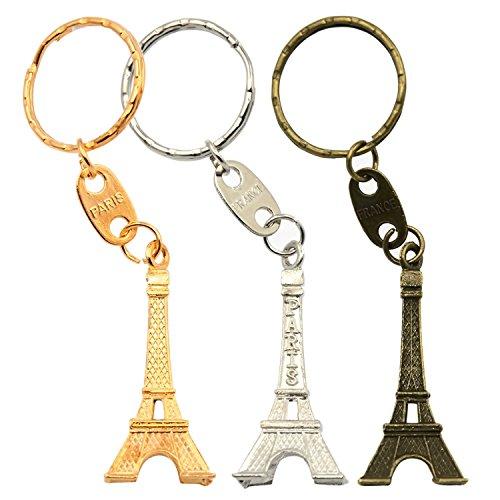 Vococal® Tour Eiffel en Métal de Style Porte-Clés Ornement Hanging b938ed78612