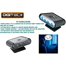O3B - TELEVISOR LED DE SIMULADOR/TV LUZ BARATA PARA EL CARTÍLAGO CONTRA ROBO PARA DETERENT