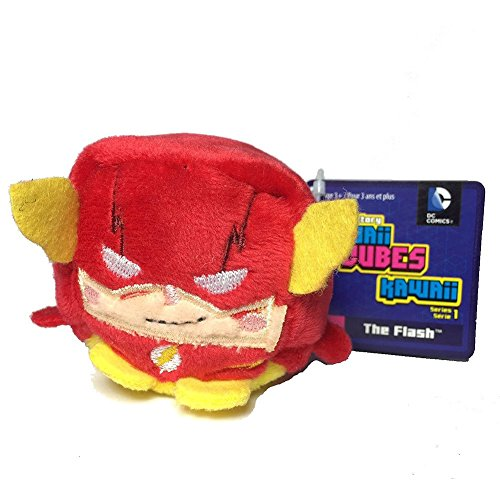 DC Comics Kawaii Cubes The Flash - Small Plush Collectible