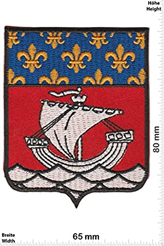 Patches - Ship - Countries Historical coat of arms - Iron on Patch - Applique embroidery Écusson brodé Costume Cadeau- Give Away