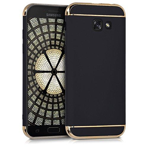 kwmobile Hülle passend für Samsung Galaxy A5 (2017) - [Hard] für Handy - Case mit Rand [Chrom] Chrom Hard Case