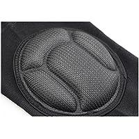 HUXBHGA Rodilleras Anti-colisión Transpirable, elástico y cómodo de Llevar Deporte Voleibol Fútbol Baile, M
