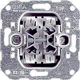 GIRA Serie Standard 55 - reinweiß glänzend (010800) Wippschalter Wechsel/Wechs.