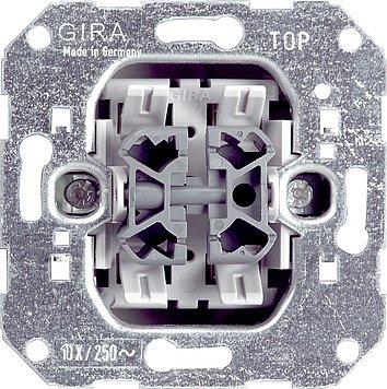 Preisvergleich Produktbild GIRA Serie Standard 55 - reinweiß glänzend (010800) Wippschalter Wechsel/Wechs.