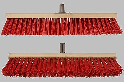 Profi- Straßenbesen mit Metall-Stielfassung (22-24 mm), verschiedene Größen