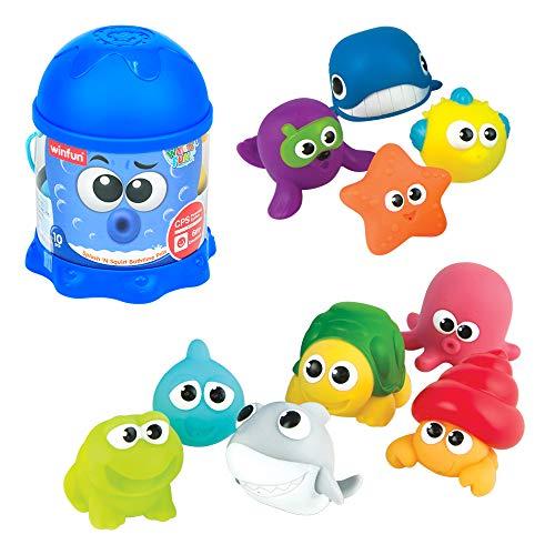 Imagen de Juguetes De Bebé Para El Baño Winfun por menos de 15 euros.