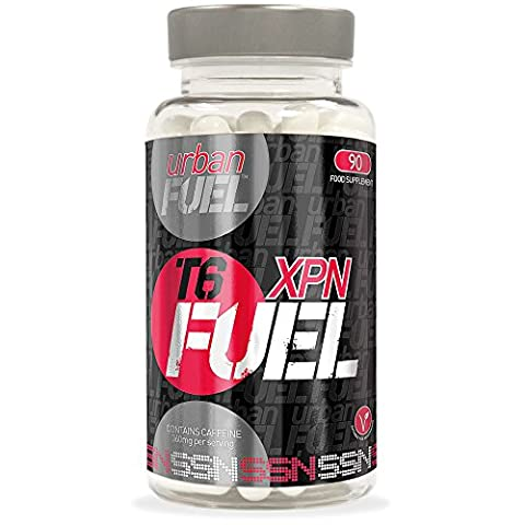 Urban Fuel XPN T6 Fat Burners - Strong Diet Pills - XPN Fuel T6 Fat Burner. Genuine Vegetarian Safe Diet Pills, Weight Loss Tablets & Fat Burners For