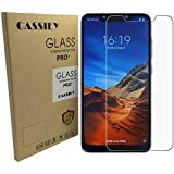 CASSIEY 2.5D Curved Edge Ultra HD+ 9H Hardness Tempered Glass for Poco F1 - Pack of 2