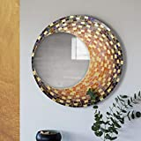 Global Glory Decorative Mosaic Chandra Mirror