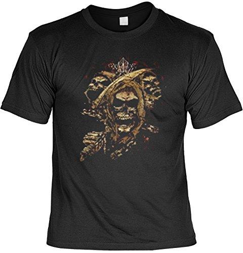 Totenkopf T-shirt: Skull Fb schwarz Größe 4XL