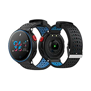 Sport Smart Watch, Activity Tracker Watch with Heart Rate Monitor, Waterproof Smart Watch with Pedometer Call SMS Remind Compatible with Android and iOS for Women Men