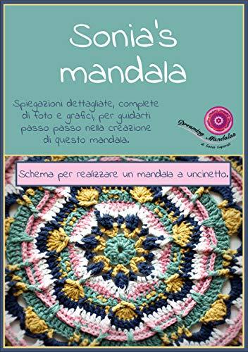 Sonias Mandala Schema A Uncinetto Per Creare Un Bellissimo Mandala