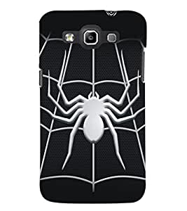 PrintDhaba Spider D-5161 Back Case Cover for SAMSUNG GALAXY WIN i8552 (Multi-Coloured)