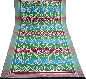 mur de décor à la maison de tapis de sol cadeau indien décoratif lavable intérieur mat coudre matériau polypropylène tapis chiffon