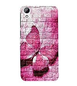 BUTTERFLY PATTERN Designer Back Case Cover for HTC Desire 820::HTC Desire 820Q::HTC Desire 820S