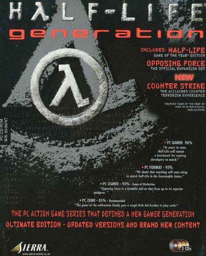 Half-Life Generation Packung: Half-Life/Zähler Strike/Gegensätzlich Force