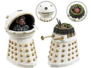 DOCTOR WHO DALEK EMPEROR DAVROS and DESTROYED IMPERIAL DALEK