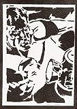 Green Lantern Poster Plakat Handmade Graffiti Street Art - Artwork