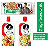 Manchurian Masala noodles :Pet bhi bhar jaayega, aur niyyat bhi! Discover life beyond mushy Masala noodles with Ching's Instant Noodles that are non-sticky and addictively spice-a-licious! Our food experts have crafted Ching's Instant Noodles...