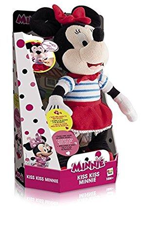 IMC Toys 181557MI2 - Peluche di Minnie Che dà Baci