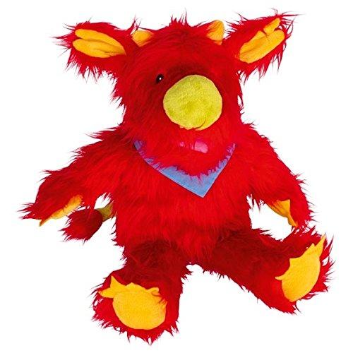Große Handpuppe Monster Hardi, weich und kuschlig, Goki
