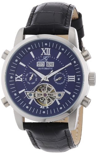 Ingraham Men's Automatic Watch Calcutta II IG CALC.2.200125 with Leather Strap