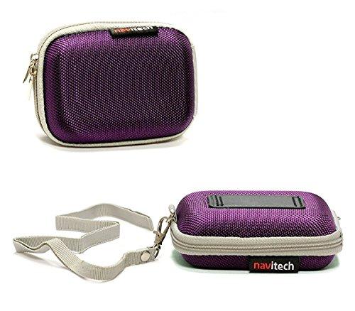 Navitech Violet Cas/Housse Compatible avec Urbanista Tokyo New Edition True Ergonomic Wireless Earbuds