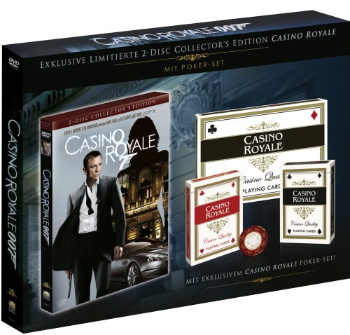James Bond - Casino Royale (Collector's Edition, 2 DVDs + 2 Decks Pokerkarten)