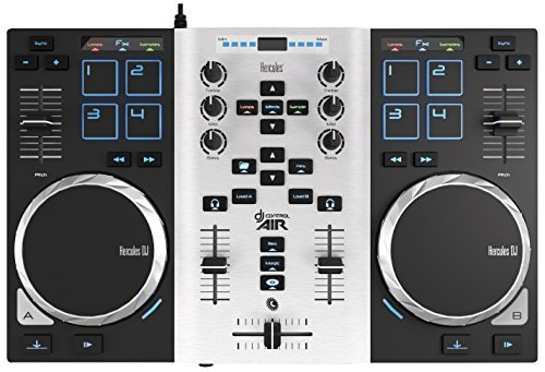 hercules-djcontrol-air-s-series-controleur-dj-usb-a-deux-platines-avec-carte-son-8-pads-et-capteur-d