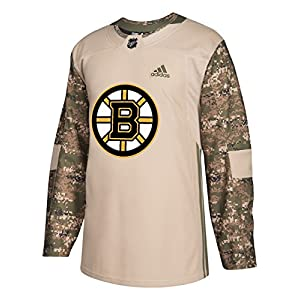 adidas Boston Bruins NHL Camouflage Pre-Game Authentic Warm Up Jersey