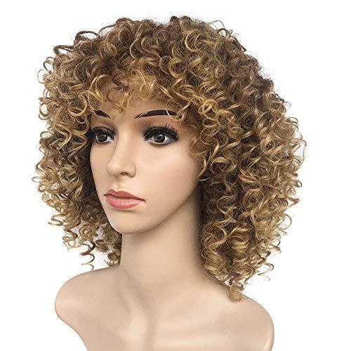 Lclrute Gemischte Braune Blonde Haarfarbe Faser Hohe