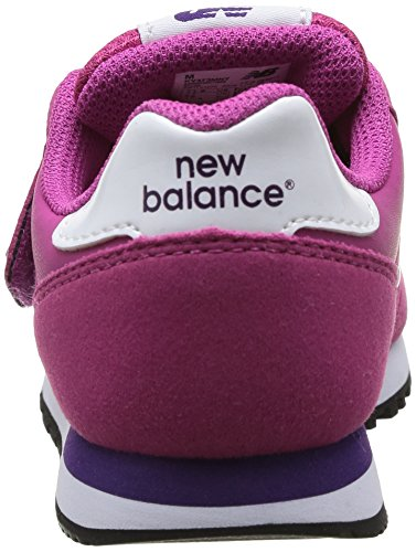 New Balance Kids Lifestyle 373 filles, cuir lisse, sneaker low pink