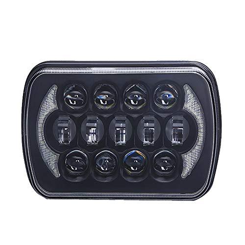 HoneybeeLY 85W LED fari Sealed Beam proiettore per Jeep Wrangler YJ Cherokee XJ, 17,8cm Camion Faro a LED Impermeabile