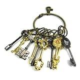 CoslolCos Fairy Tail Keys Lucy Portachiavi Cuore pendente della collana Set di 21