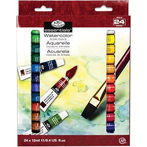 Royal & Langnickel Artist Paint - Watercolour Paint 24 Tubes