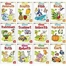 Colouring Books For Kids: Pack of 12 Copy Colour Books For Children