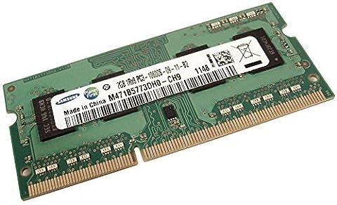 Samsung 2GB DDR3–1333MHz 2GB DDR31333MHz Module–Memory (DDR3, Notebook, 204-pin SO-DIMM,