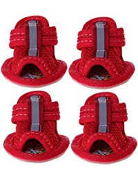 98a3879dee108 zrshygs Pet Shoes for Dogs Scarpe Antiscivolo per Cani di Piccola Taglia  Pet Shoes Summer Sandali