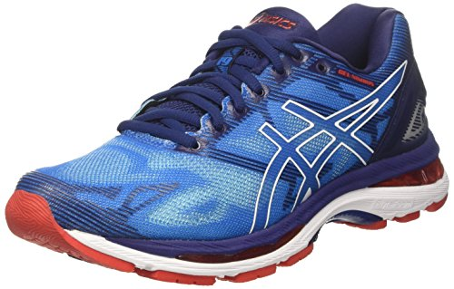 Asics Men's Gel-Nimbus 19 Running Shoes, Blue (Diva Blue/White/Indigo Blue), 9.5 UK...