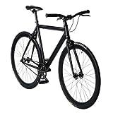 bonvelo Singlespeed Fahrrad Blizz Back to Black (XL / 59cm für Körpergrößen ab 181cm)