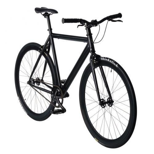 bonvelo Singlespeed Fixie Fahrrad Blizz Back to Black (Large / 56cm für Körpergrößen von 170cm bis 181cm)
