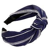 Dorical Haarband Yoga Headband Hairband Damen Stoff Haarreif mit Schleife-Vintage-Wunderschön...