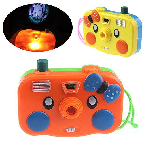 Vovotrade Kamera Spielzeug Projektion Simulation Digitalkamera Kinder pädagogisches Geschenk Niedliche Kindermode Geburtstag Kinder Spielzeug (Zufällig)